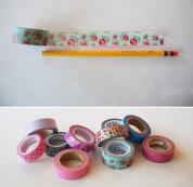 Washi Tape Pencils 1