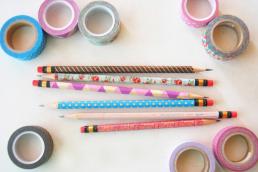 Washi Tape Pencils 2